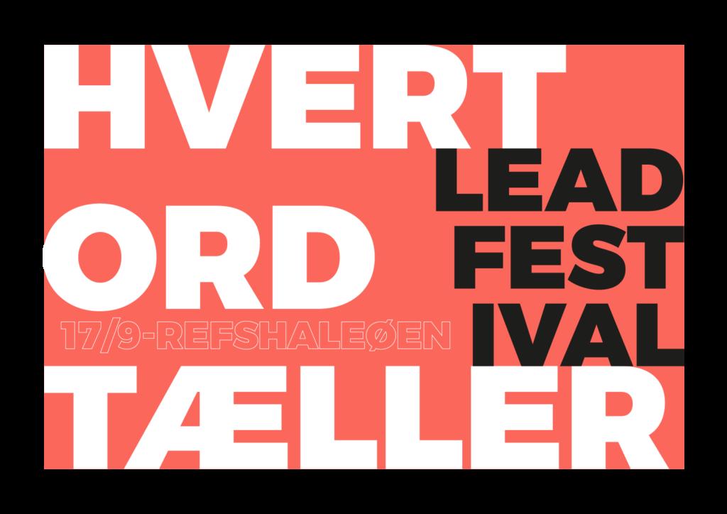 Lead Festival Flag