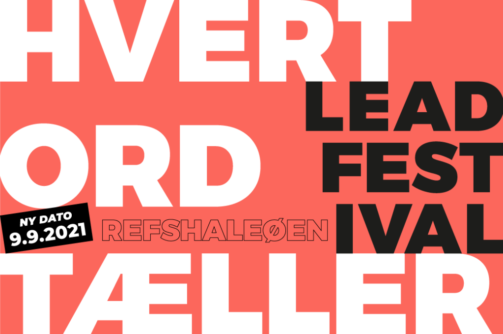 Festival Poster ny dato